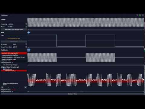 Universal Radio Hacker Gilgen ASK/OOK