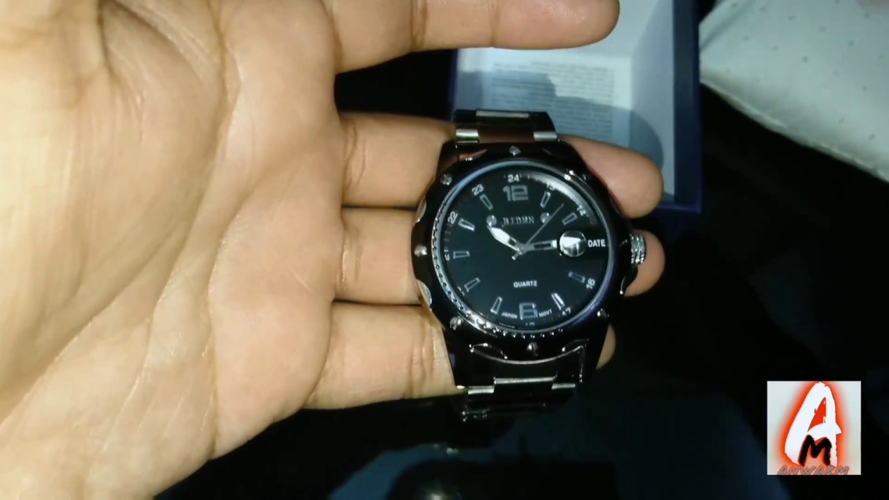 Biden Stainless Steel B0012 Watch (Review) - YouTube