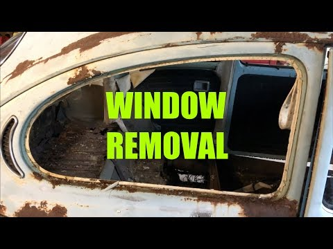 How to Remove Windows on a VW Beetle
