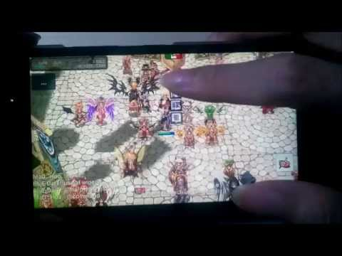 Playing Ragnarok Online (XileRO - Private Server) on Android (Lenovo A6K)