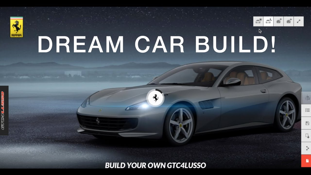 Help Me Build My Dream Car