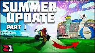 SUMMER UPDATE ! Part 1 Astroneer NEW Update | Z1 Gaming