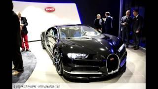 Bugatti Chiron Motor sound
