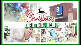 CHRISTMAS THRIFT WITH ME & HAUL 2019 | GOODWILL SHOP WITH ME