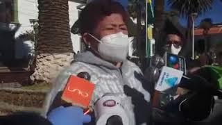 Familiares de Policia en Sucre piden al Ministro Murillo condiciones sanitarias para la Policia