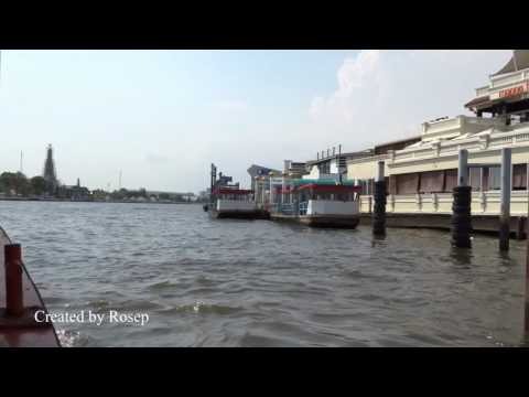 Journey on the Chao Phraya River, Bangkok, Thailand