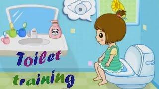 Kids potty games. Toilet training boys and girls. Baby's potty training