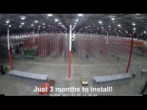 Swift Install Keeps Home Improvement Warehouse on Track   Apex Project Spotlight - Time-Lapse
