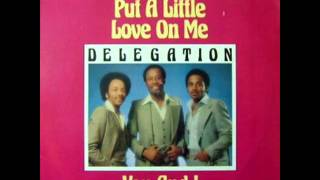 delegation   put a little love on me ( version long )