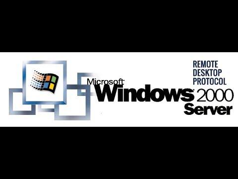 Подключение к Windows 2000 Server по RDP