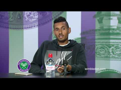 Nick Kyrgios second round press conference