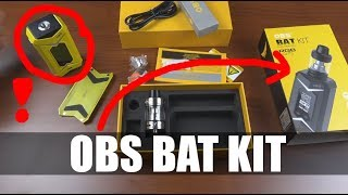 UNBOXING I TEST OBS BAT KIT