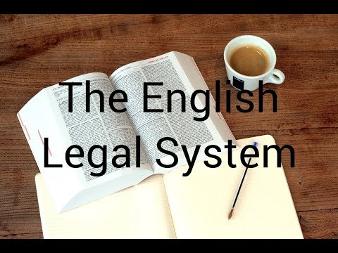 The English / British Legal System Explained: A Brief Introduction for Dummies - Ideal for Revision