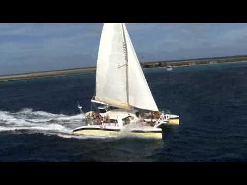 Katamaran Jonalisa Trip to Klein Curacao