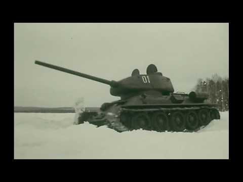 Т-34. Из к/ф 'Главный конструктор'... - Видео онлайн