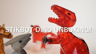 Stikbot Dino Unboxing and Review Part 1 | #stikbot
