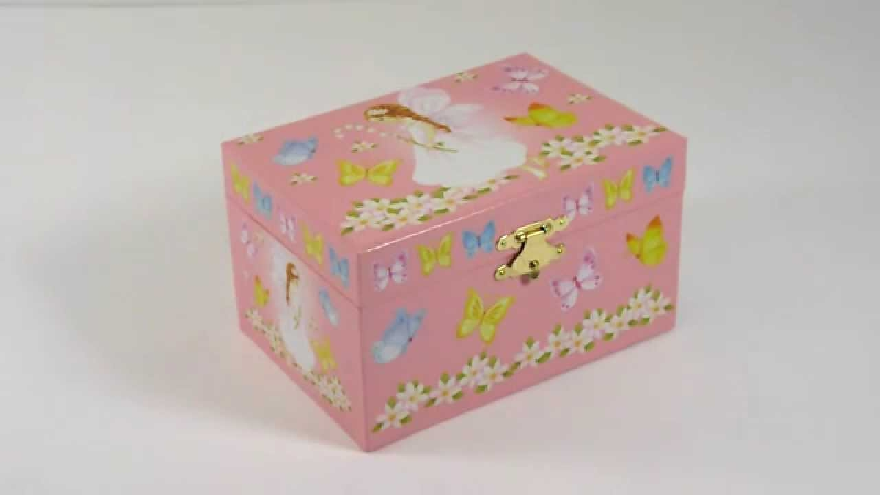 Butterfly Fairy Musical Jewellery Box wwwbeckyandlolocouk YouTube