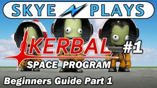 Kerbal Space Program Part 1 ► The First Mission (KSP Career Mode) ◀ Gameplay / Tutorial / Tips