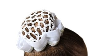 """Как сделать прическу """"Бабетту"""" или """"Шишку из Пончика"""" ребенку на танцы ★прически на средние волосы"""