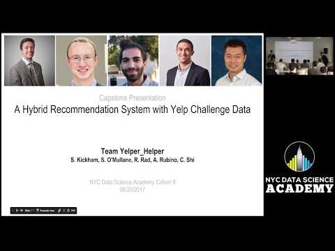 A Hybrid Recommender with Yelp Challenge Data - YouTube