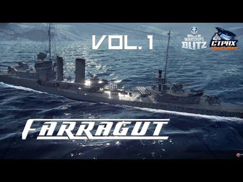 WOWS BLITZ Флот :СТРАХ Faragut