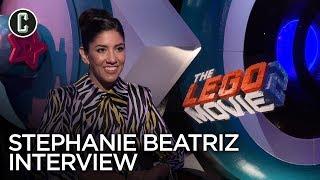 Stephanie Beatriz Interview LEGO Movie 2