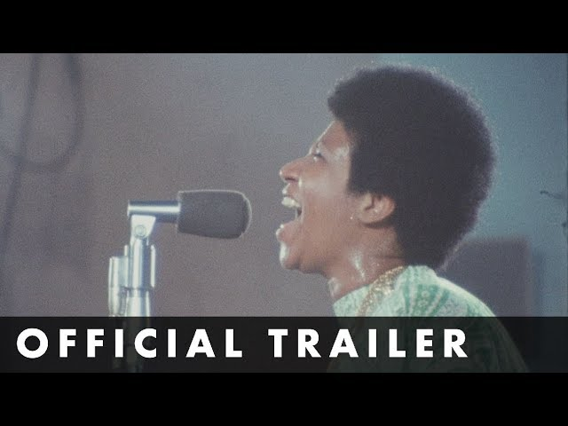 AMAZING GRACE - Official Trailer - Aretha Franklin Concert Film
