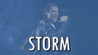 Victor Crone - Storm (Fanmade Lyric Video) (Eurovision 2019 Estonia)