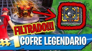 SECRET LEGENDARY COFREInATON IN FORTNITE ? Hidden Golden Chest in Feralidragon Neighborhood