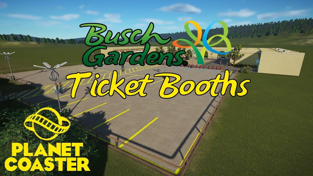 Busch Garden Ticket