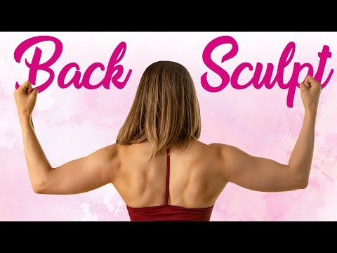 Sculpt Your Back, Shoulders & Arms, Improve Posture & Look Taller! 10 Min. HIIT Workout at Home