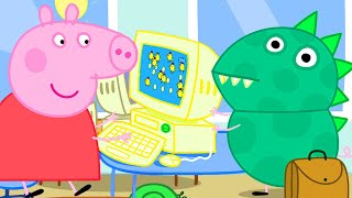Peppa Pig Official Channel  Working in the Office with Peppa Pig and Dinosaur George