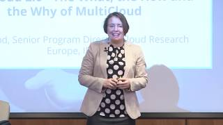IDC MultiCloud Conference 2019 - Carla Arend presentation