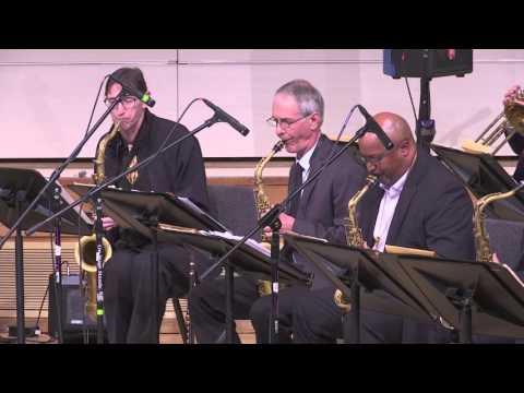 Sacramento Jazz Orchestra - Festival of New American Music - Sacramento State 11-15-2015