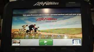 Life Fitness Discover SE Console