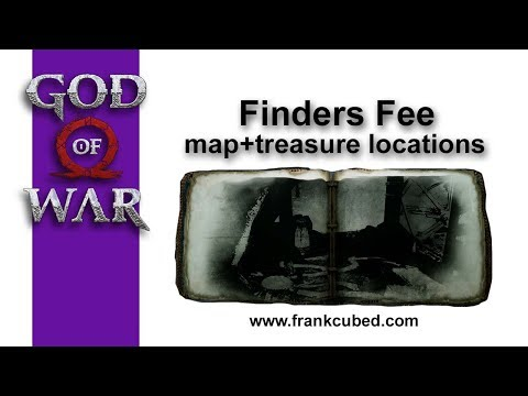 "God of War ""FINDERS FEE"" Map and Treasure Locations"