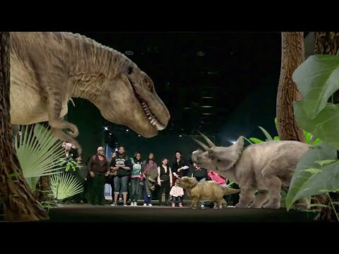 Augmented Reality experience at Smithsonian Museum of Natural History, Washington DC - by INDE