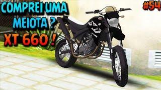 GTA SAN ANDREAS - MOTOVLOG Vida Real #54 - ROLÊ NA QUEBRADA & COMPREI UMA XT 660 ( MEIOTA ) ??