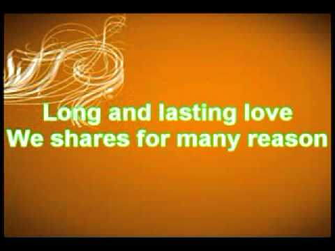 A Long And Lasting Love Lyrics
