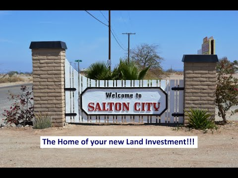 Salton City CA Land For Sale - Great Price!