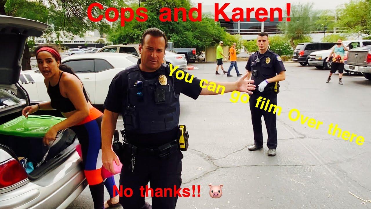 What's worse? Karen or the cop?