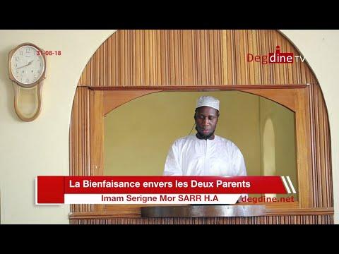 Khoutbah du 31-08-18 | La Bienfaisance envers les Deux Parents | Imam Serigne Mor SARR H.A