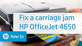 How to fix hp deskjet Printer carriage jam issue or carriage