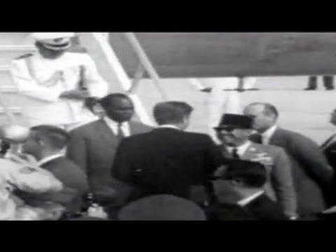 President Sukarno Meets John F Kennedy in Washington, September 1961