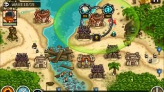 Kingdom Rush Rising Tides - Port Tortuga - 3 Stars