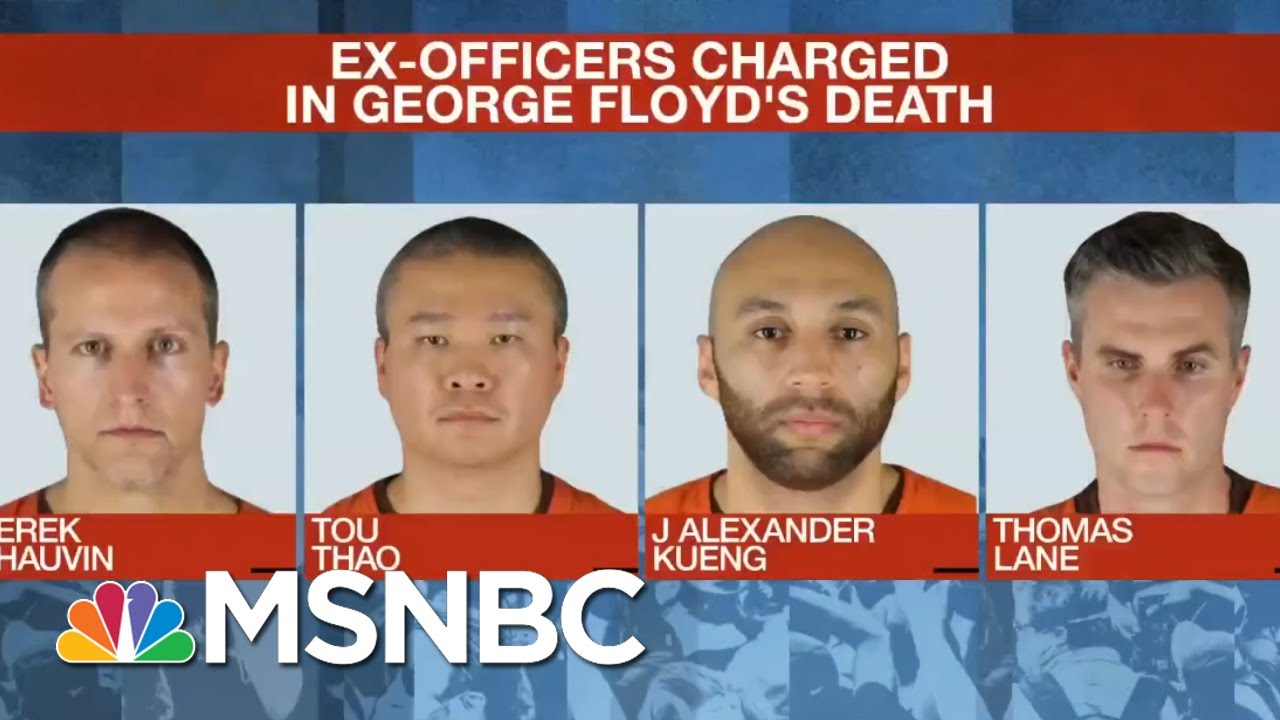 Three Fired Officers Appear In Court In Floyd Case | MSNBC