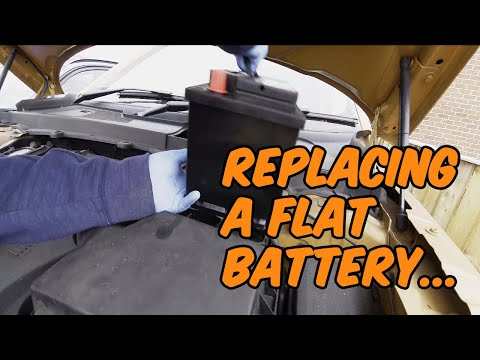 How to Replace Land Rover Freelander 2 Flat Battery…