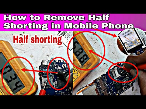 How to Remove Half Shorting in Mobile Phone OR  How to Check Shorting in Mobile with Multimeter