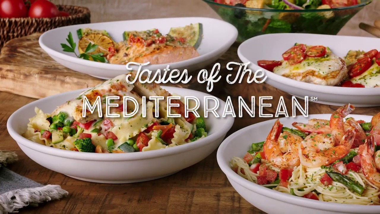 Tastes Of The Mediterranean At Olive Garden Youtube