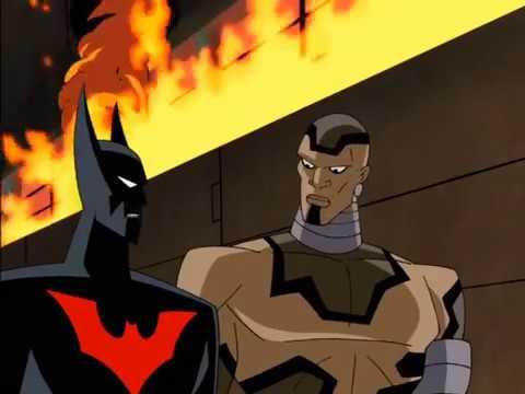 The Stalker saves Batman Beyond
